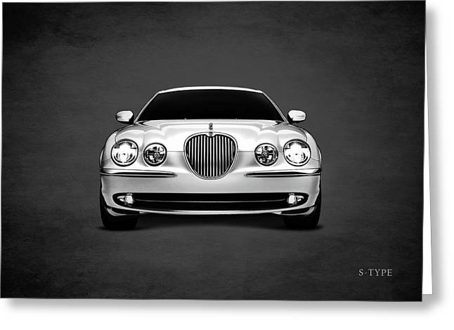 Jaguar S Type Greeting Card by Mark Rogan