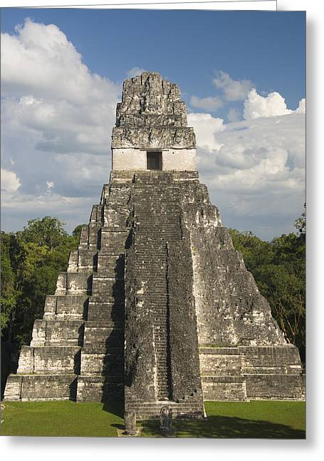 Sightsee Greeting Cards - Jaguar Temple Greeting Card by Gloria & Richard Maschmeyer