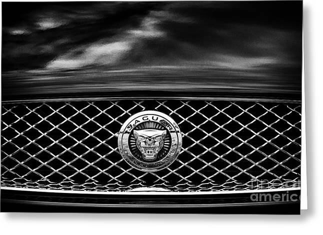 Jaguar Xk Greeting Card by Tim Gainey
