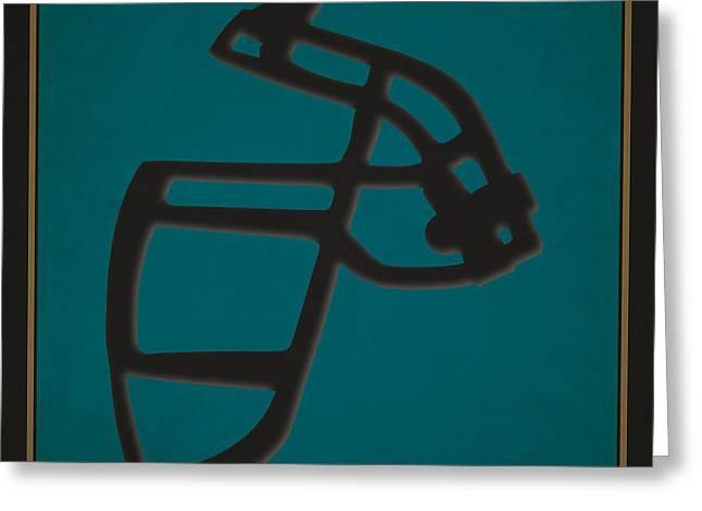 Jacksonville Greeting Cards - Jaguars Face Mask Greeting Card by Joe Hamilton