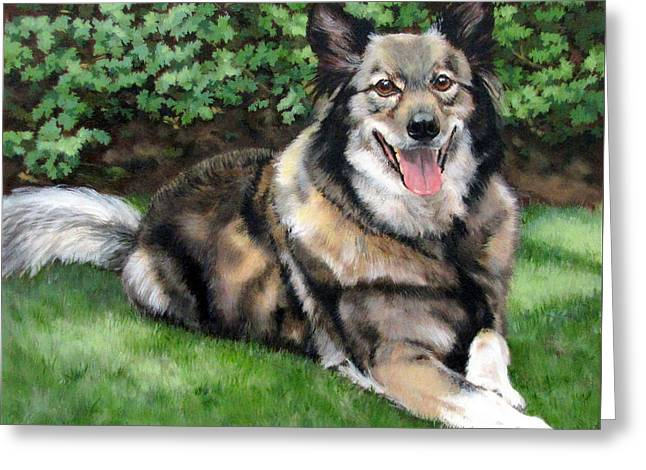 Sandra Chase Greeting Cards - Jake Greeting Card by Sandra Chase