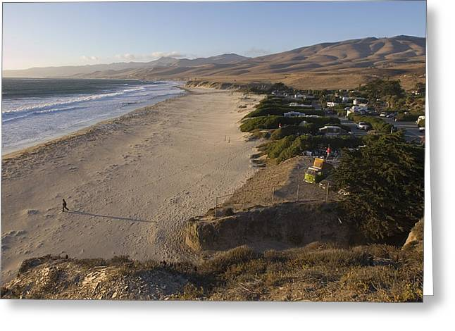 Gaviota Greeting Cards - Jalama Campground And Beach. Pacific Greeting Card by Rich Reid