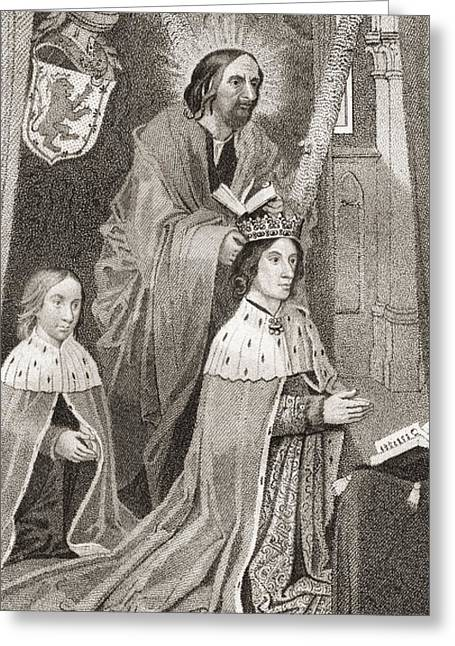 Crowned Head Greeting Cards - James Iii Of Scotland, 1451 Greeting Card by Ken Welsh