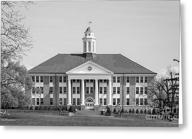 James Madison University Wilson Hall Greeting Card by University Icons