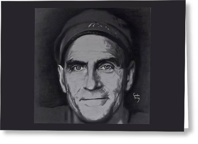 Icons Pastels Greeting Cards - James Taylor Greeting Card by Gordon Irving
