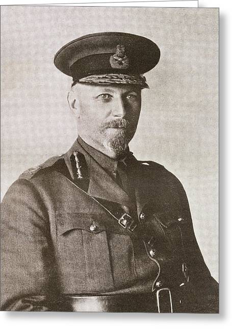Wwi Greeting Cards - Jan Christiaan Smuts 1870 - 1950. South Greeting Card by Ken Welsh