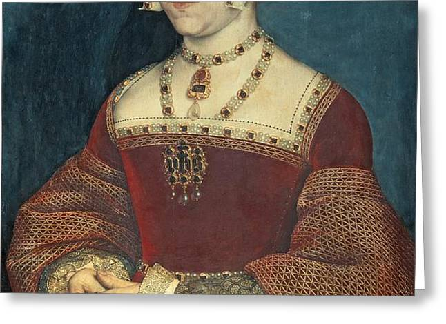 Jane Seymour Greeting Card by Holbein