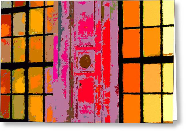"""""""japan House"""" Greeting Cards - Japan House Greeting Card by David Lee Thompson"""