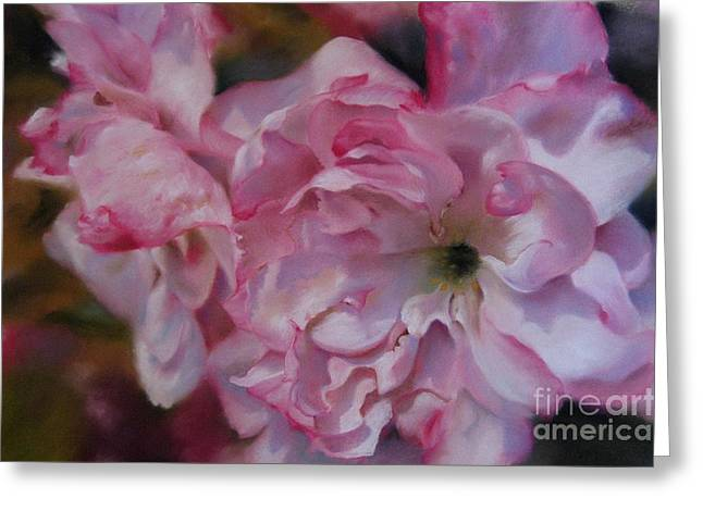 Recently Sold -  - Beauty Pastels Greeting Cards - Japanese Cherry Blossom Greeting Card by Sabina Haas