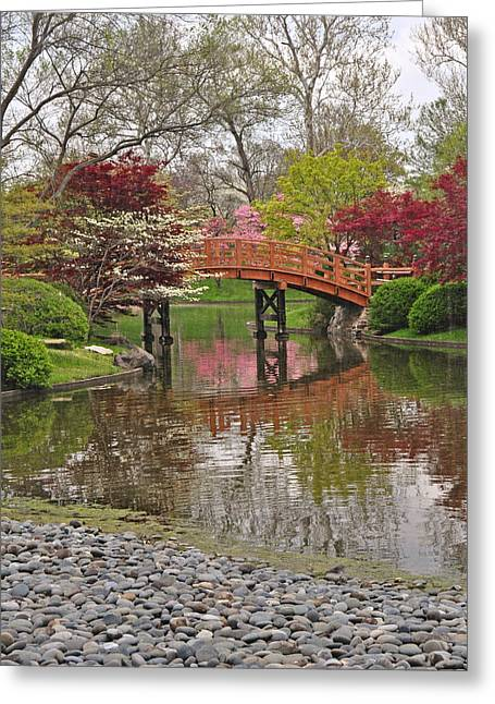 Marty Koch Greeting Cards - Japanese Garden 5 Greeting Card by Marty Koch