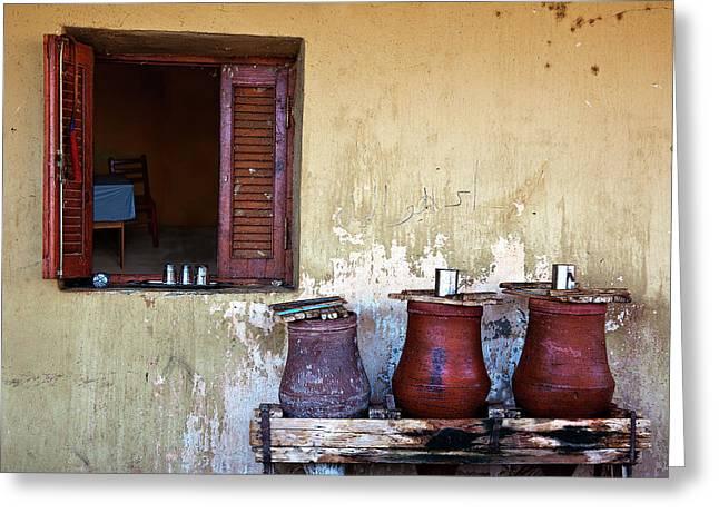 Jars Greeting Card by Armando Picciotto