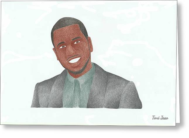 Choreographer Greeting Cards - Jason Derulo Greeting Card by Toni Jaso