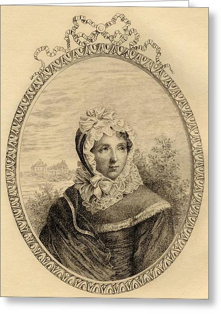 Marie-louise Greeting Cards - Jeanne Louise Henriette Campan, Madame Greeting Card by Vintage Design Pics