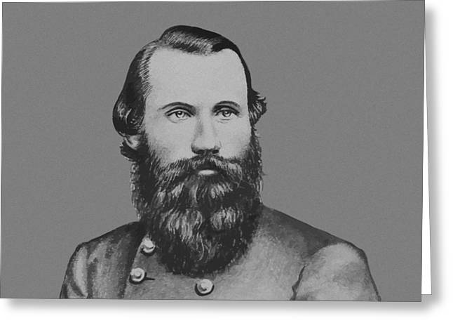 Jeb Stuart -- Confederate General Greeting Card by War Is Hell Store