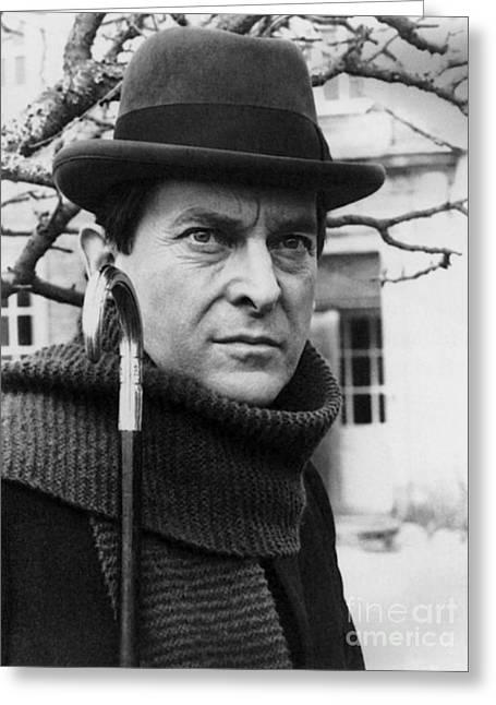 Jeremy Brett (1935-1995) Greeting Card by Granger