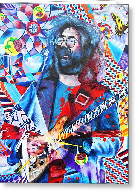 Blotter Art Greeting Cards - Jerome 13 Greeting Card by Kevin J Cooper Artwork