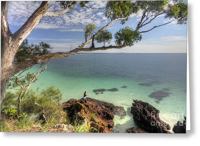 Jervis Greeting Cards - Jervis Bay Australia Greeting Card by Leah-Anne Thompson