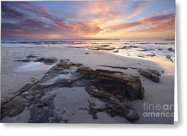 Jervis Greeting Cards - Jervis Bay Sunrise Greeting Card by Leah-Anne Thompson