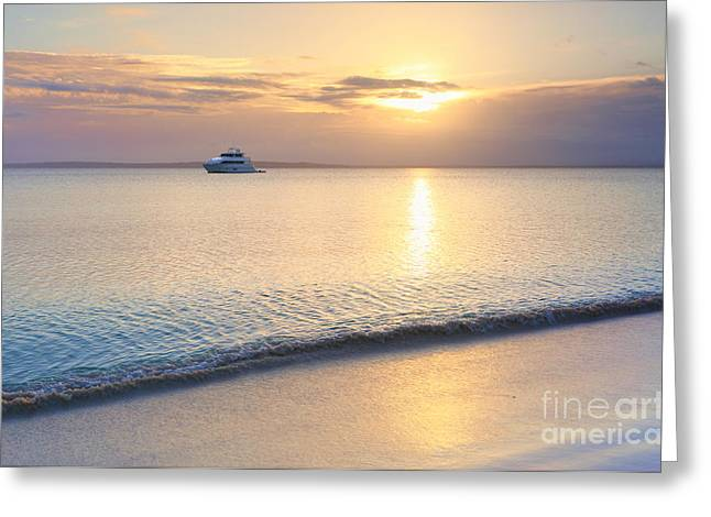 Jervis Greeting Cards - Jervis Bay Sunset Greeting Card by Leah-Anne Thompson