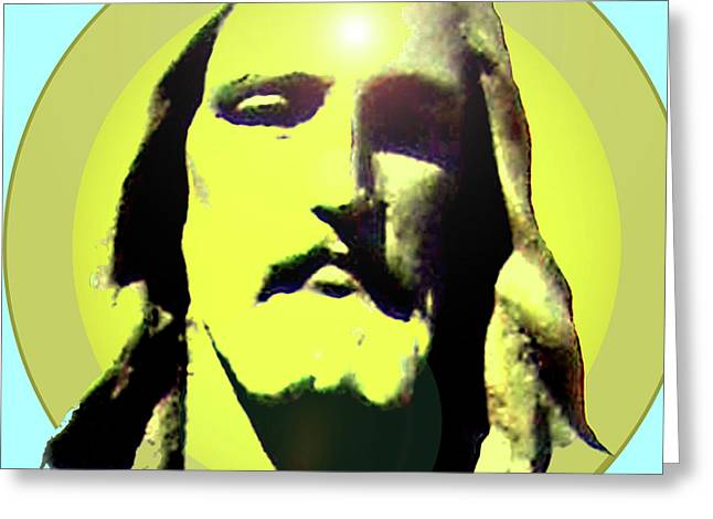 Issa Greeting Cards - Jesus Christ No. 03 Greeting Card by Ramon Labusch