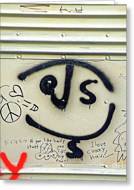 Teenage Art Greeting Cards - JESUS on the bus Greeting Card by Joe Jake Pratt
