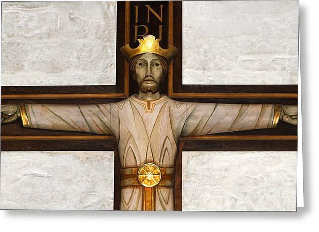 Pontius Pilate Greeting Cards - Jesus the Nazarene Greeting Card by Gordon Palmer