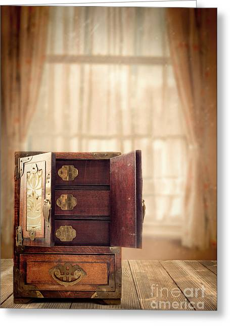 Cabinet Room Greeting Cards - Jewel Cabinet Greeting Card by Amanda And Christopher Elwell