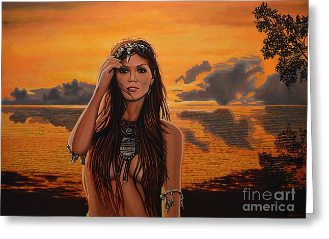 Indigenous Greeting Cards - Jewels Of Costa Rica Greeting Card by Paul Meijering