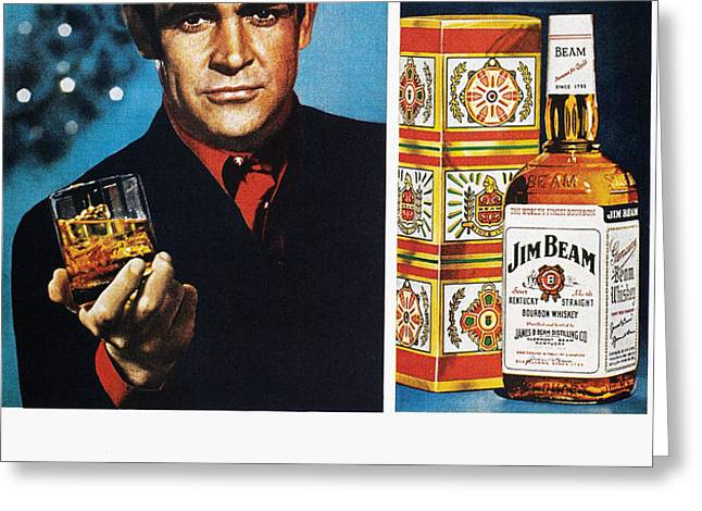 JIM BEAM AD, 1966 Greeting Card by Granger