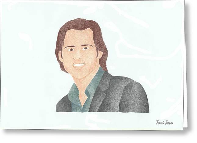 Dumb And Dumber Greeting Cards - Jim Carey Greeting Card by Toni Jaso