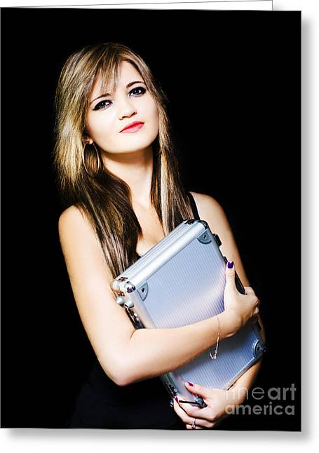 Job Recruitment And Staff Hire Greeting Card by Jorgo Photography - Wall Art Gallery