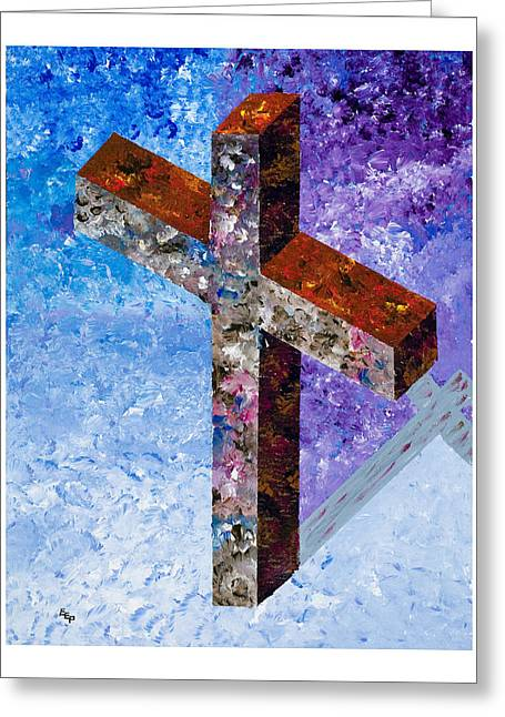 Born Again Greeting Cards - John 17 Greeting Card by Enrico Pischiera