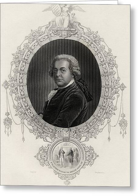 First Black President Greeting Cards - John Adams 1735-1826 First Vice Greeting Card by Ken Welsh