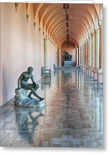 John And Mable Ringling Museum Of Art Greeting Card by Mitch Spence