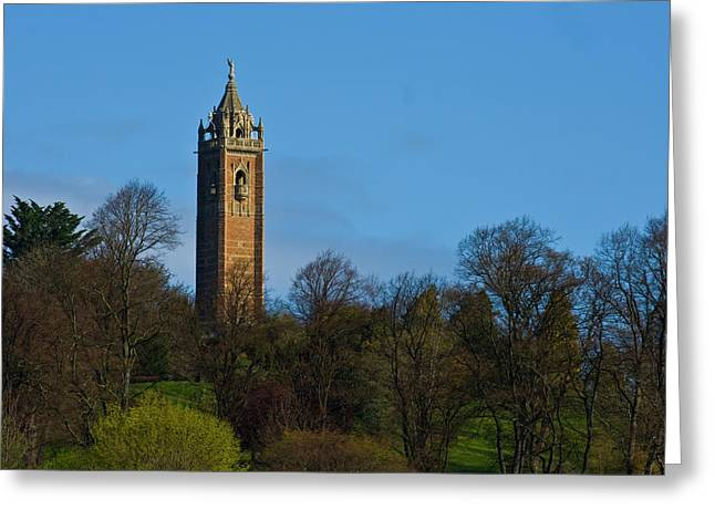Cabot Greeting Cards - John Cabot Tower Greeting Card by Brian Roscorla
