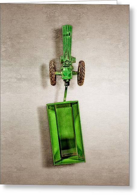 John Deere Wagon Top Greeting Card by YoPedro
