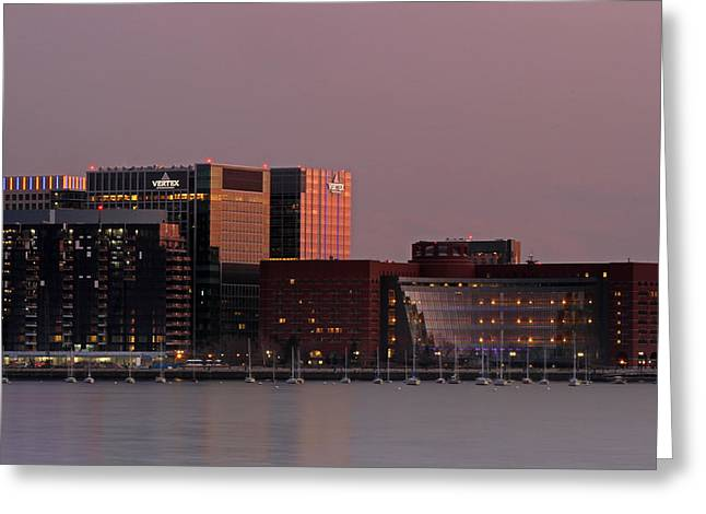 Boston Skyline Photo Greeting Cards - John Joseph Moakley U.S. Courthouse  Greeting Card by Juergen Roth
