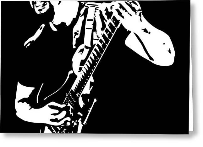 John Petrucci No.01 Greeting Card by Caio Caldas