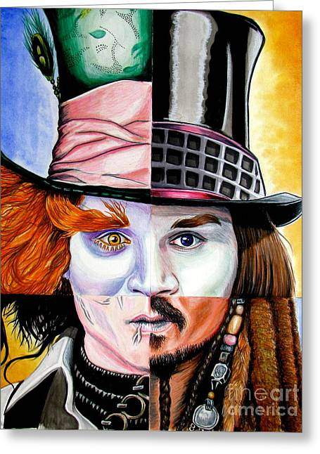 Johnny Depp's Greatest Greeting Card by Andres Machado