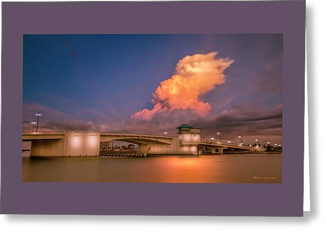 John's Pass Greeting Card by Marvin Spates