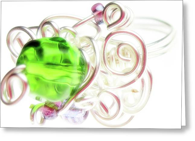 Fashion Jewelry Greeting Cards - Jolly Rancher Greeting Card by Molly McPherson