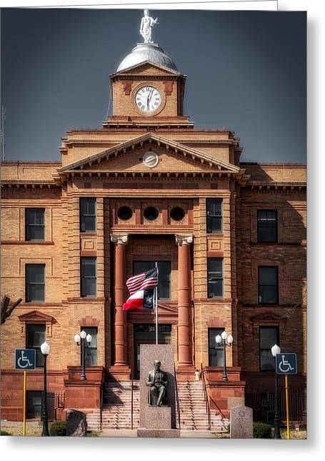 Jones County Courthouse Greeting Card by Mountain Dreams