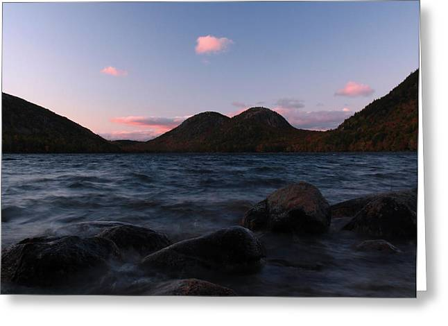 Jordan Pond Greeting Card by Juergen Roth