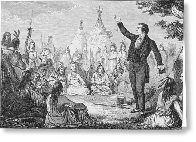 Church Founder Greeting Cards - Joseph Smith 1805 To 1844 Founder Of Greeting Card by Ken Welsh