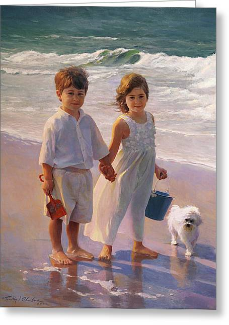 Timothy Chambers Greeting Cards - Joshua and Cayla Greeting Card by Timothy Chambers