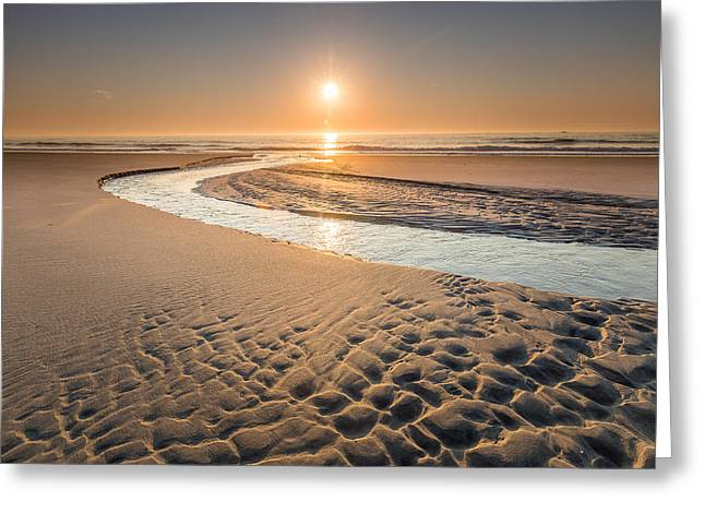 New England Ocean Greeting Cards - Journey to the Sea Greeting Card by Jeremy Noyes