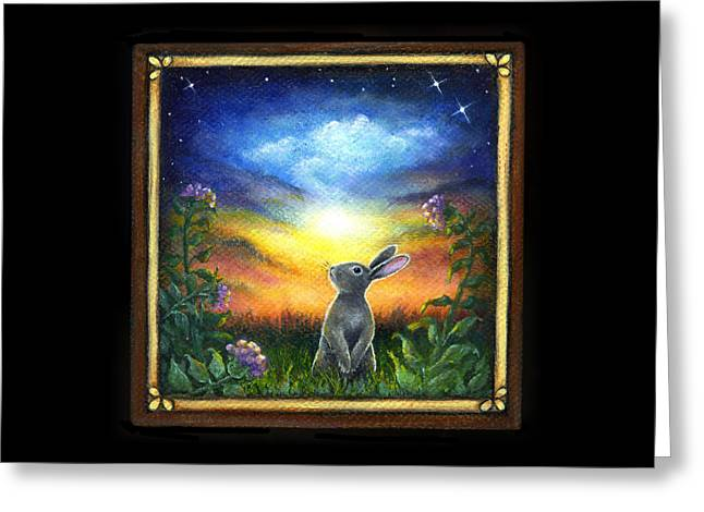 Joy Comes In The Morning Greeting Card by Retta Stephenson