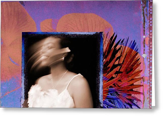 African-american Digital Greeting Cards - Joy Greeting Card by Fern Logan