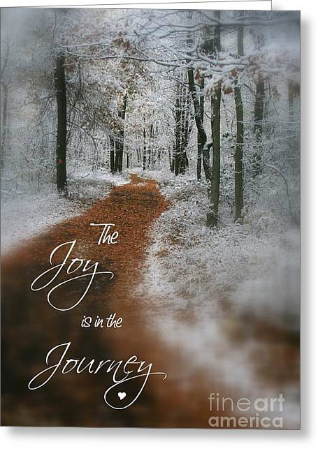 Narnia Greeting Cards - Joy in the Journey Greeting Card by Debra Straub