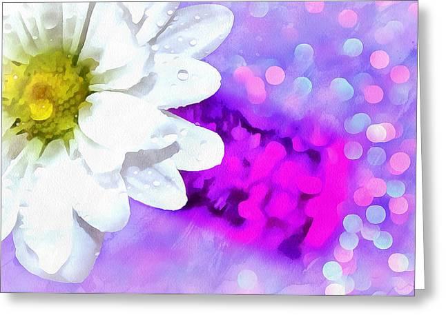 Joy Is All Around Greeting Card by Krissy Katsimbras
